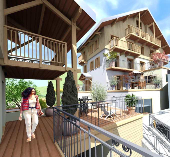 Programme immobilier neuf vente areches agence for Achat maison par agence immobiliere